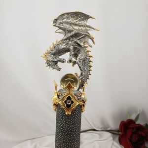Other - Collectable Dragon & Crystal Ball Walking Stick